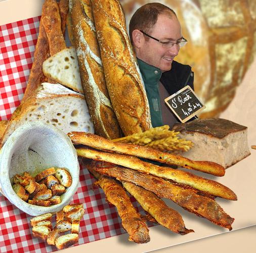Pascal Emeriau, une tartine de bonheur, pain bio