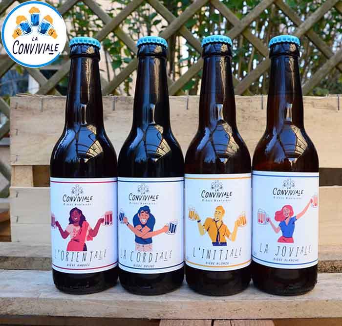 brasserie la conviviale bières artisanales